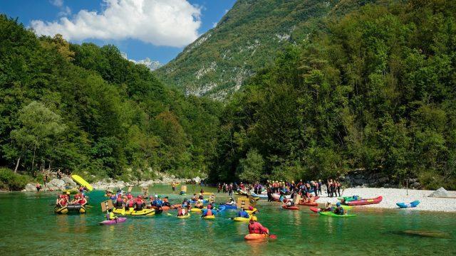 Soča and Učja Flotilla | BRT3 Pre-Party