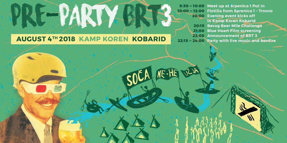 Upcoming | BRT3 Pre-Party + Flotilla