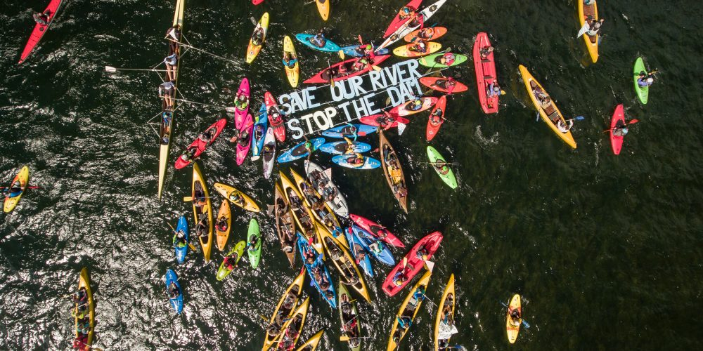 BALKAN RIVERS TOUR BECOMES BIGGEST EUROPEAN RIVER CONSERVATION ACTION
