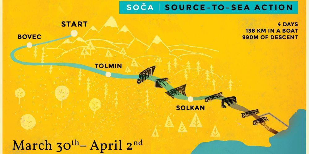 SOČA SOURCE-TO-SEA ACTION