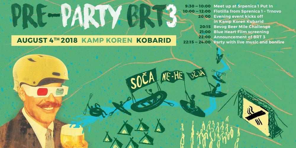 Upcoming | BRT3 Pre-Party + Flotilla