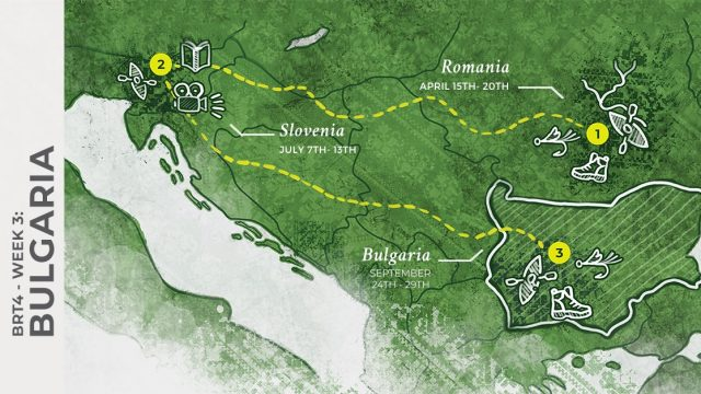 1 WEEK UNTIL BRT 4   WEEK 3: BULGARIA