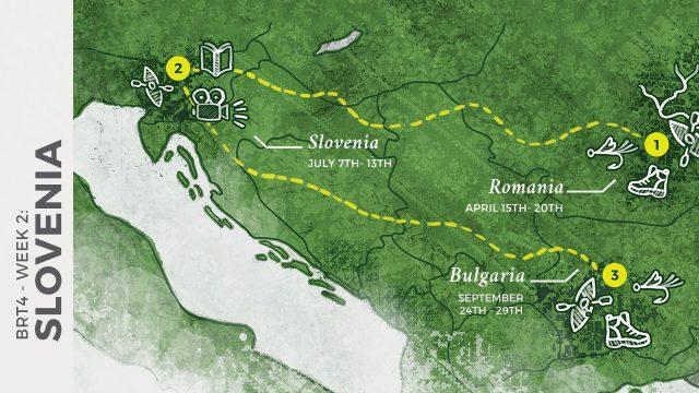 1 WEEK UNTIL BRT 4   WEEK 2: SLOVENIA