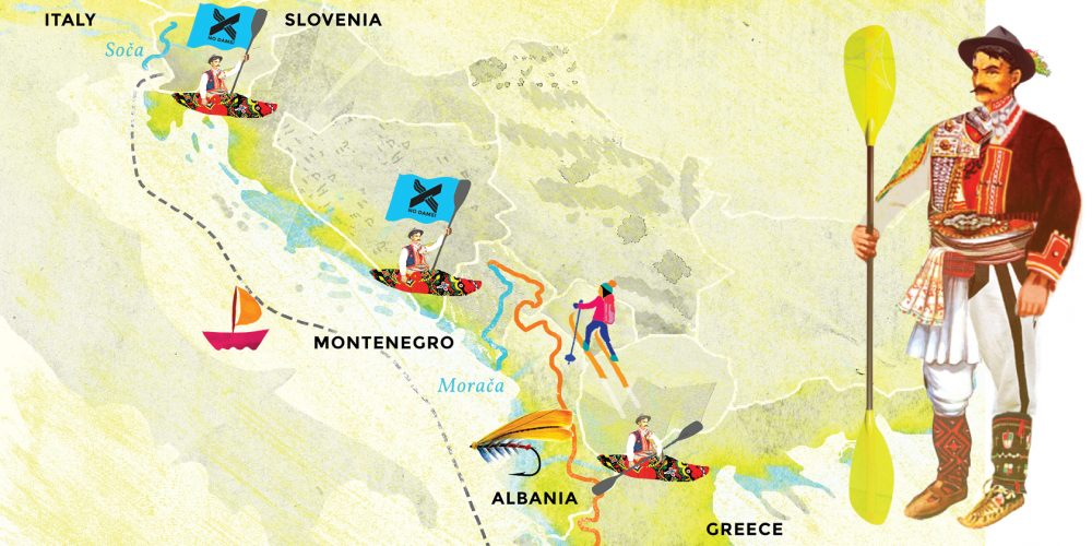 THE CREW MOVES SOUTH TO GREECE